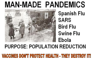 MAN-MADE PANDEMICS
