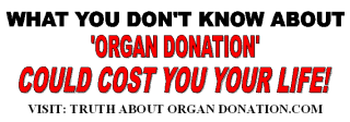 organ procurement bumper sticker 2